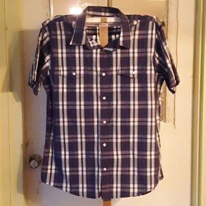 Hirley Short Sleeve Plaid Shirt